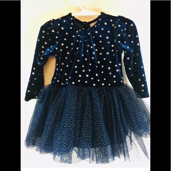 The Children's Place Other - Baby Girl's Long Sleeve Dress Layers Tulle Skirts